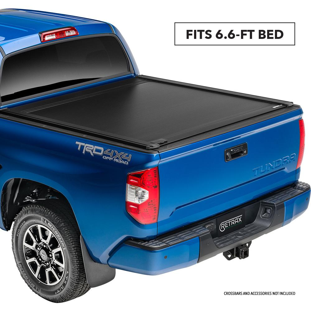 Tundra Bed Cover >> Retrax One Xr Tonneau Cover 07 19 Toyota Tundra Regular Double Cab 6 6 Bed W Deck Rail System W Out Stake Pockets