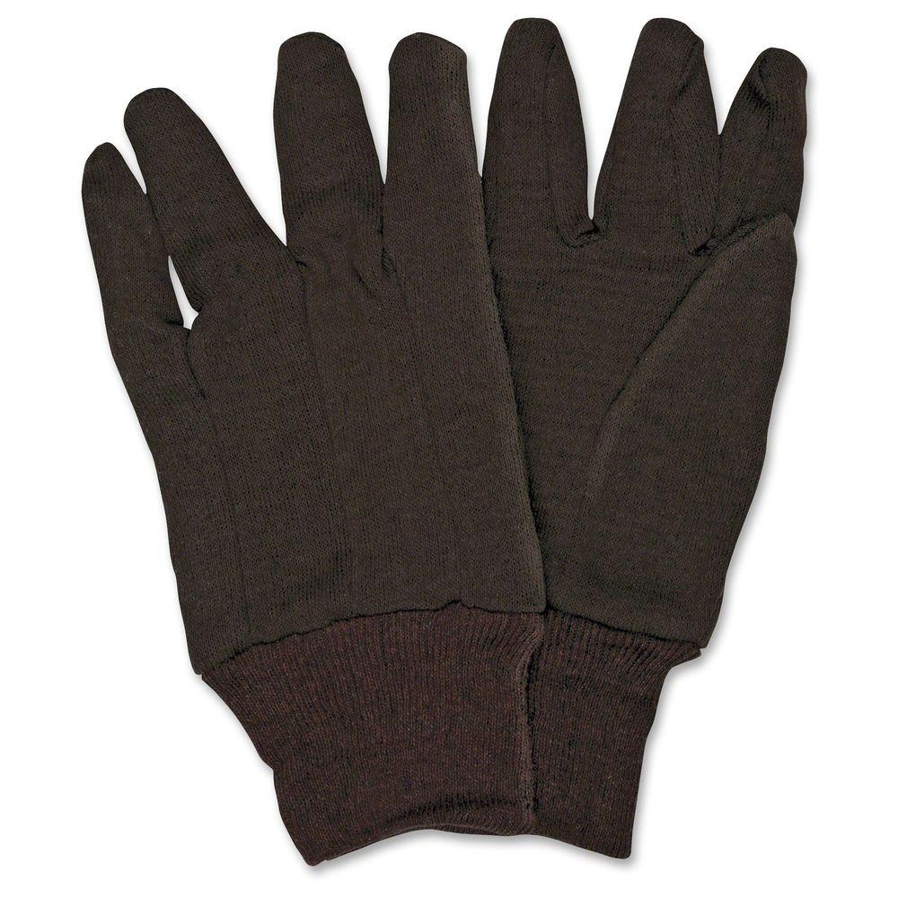52d5b263ebcf7 MCR Safety General Purpose Brown Jersey Gloves-MCSCRW7100D - The ...