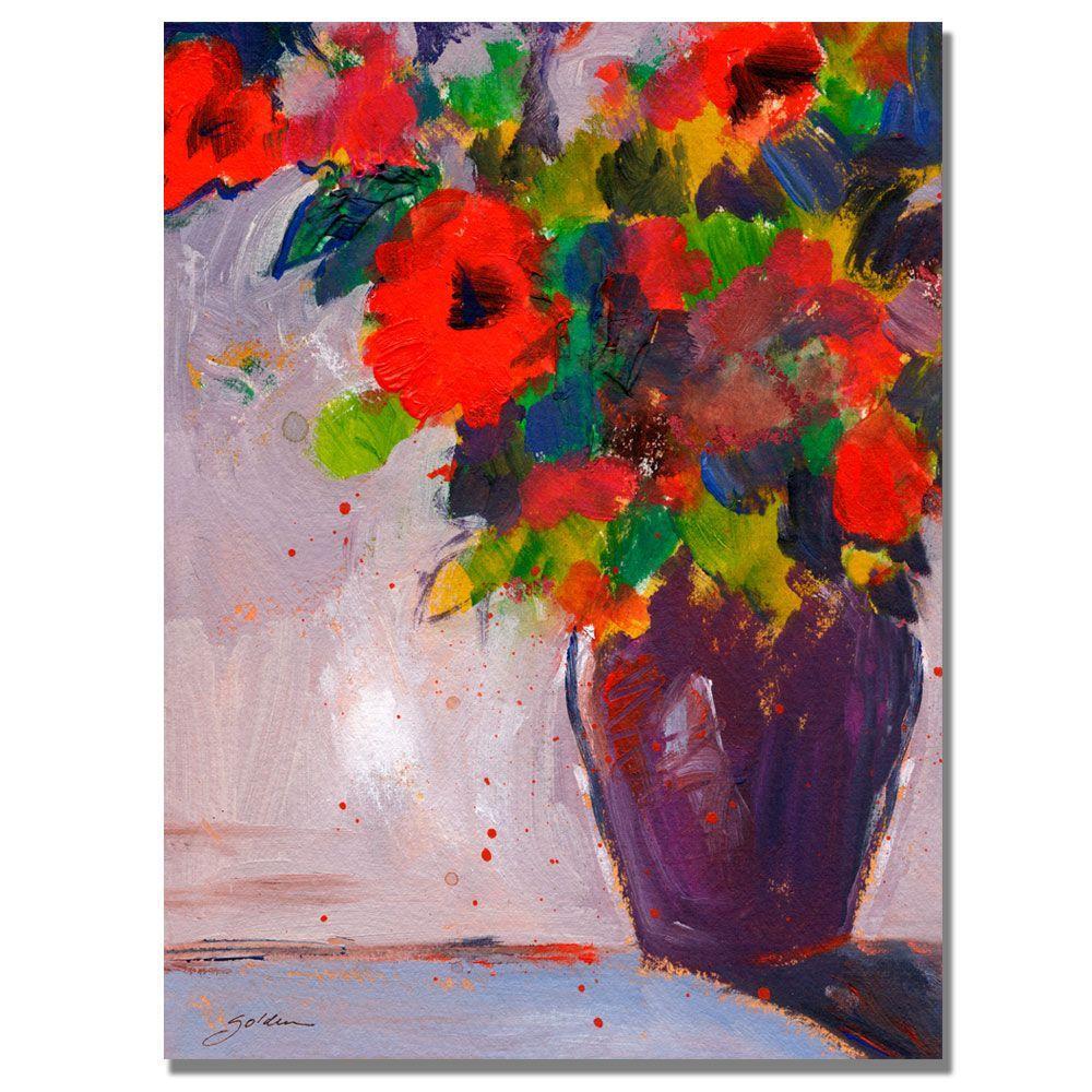 Trademark Fine Art 18 in. x 24 in. Fiesta II Canvas Art