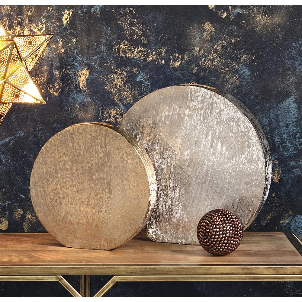 Nalani Metallic Medium Disc Vase