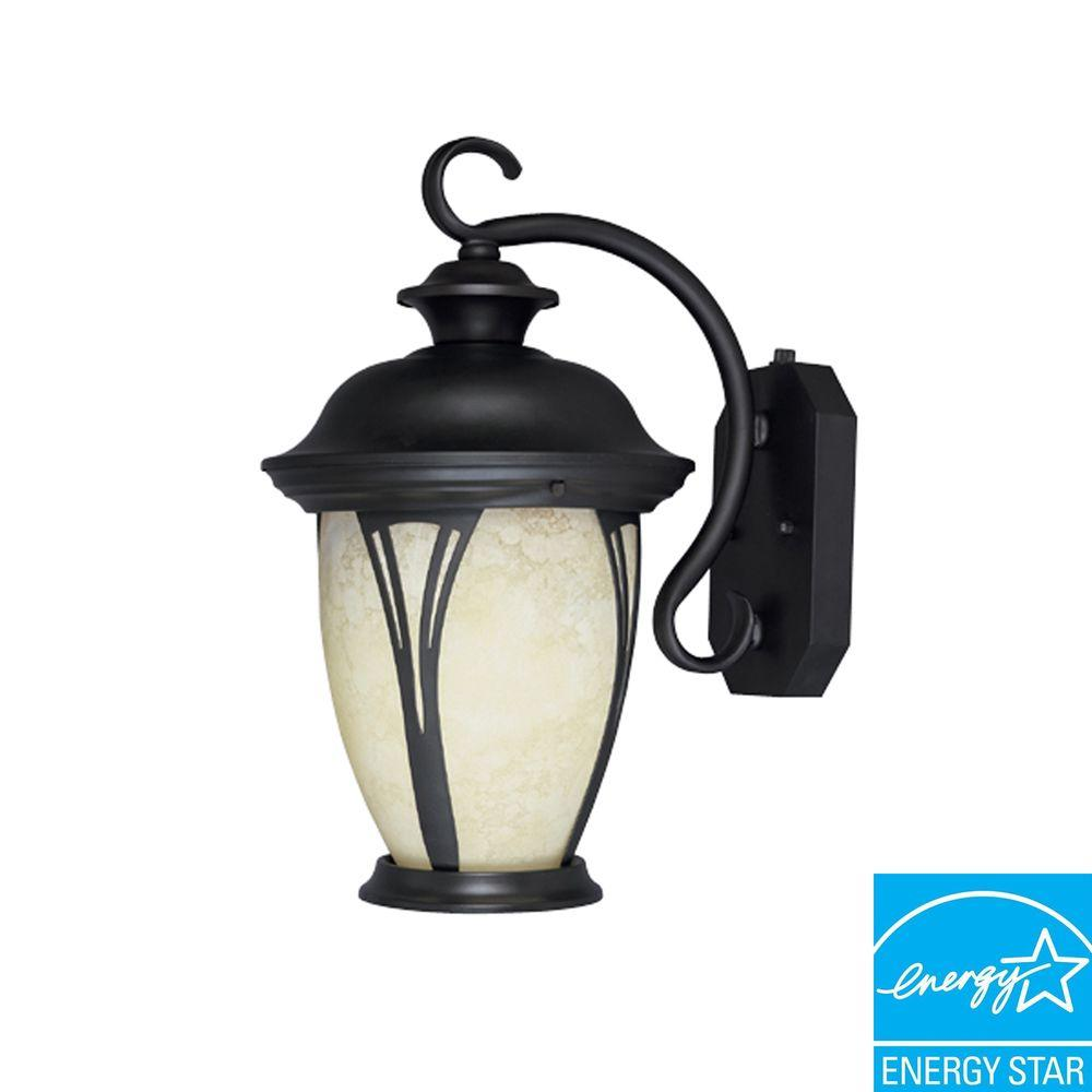 Granada Bronze Outdoor Wall-Mount Lantern