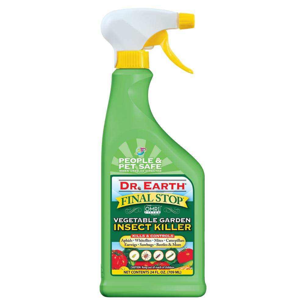 DR  EARTH 24 oz  Ready-to-Use Vegetable Garden Insect Killer