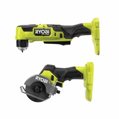 ONE+ HP 18V Brushless Cordless Compact 2-Tool Combo Kit with 3/8 in. Right Angle Drill and Cut-Off Tool (Tools Only)