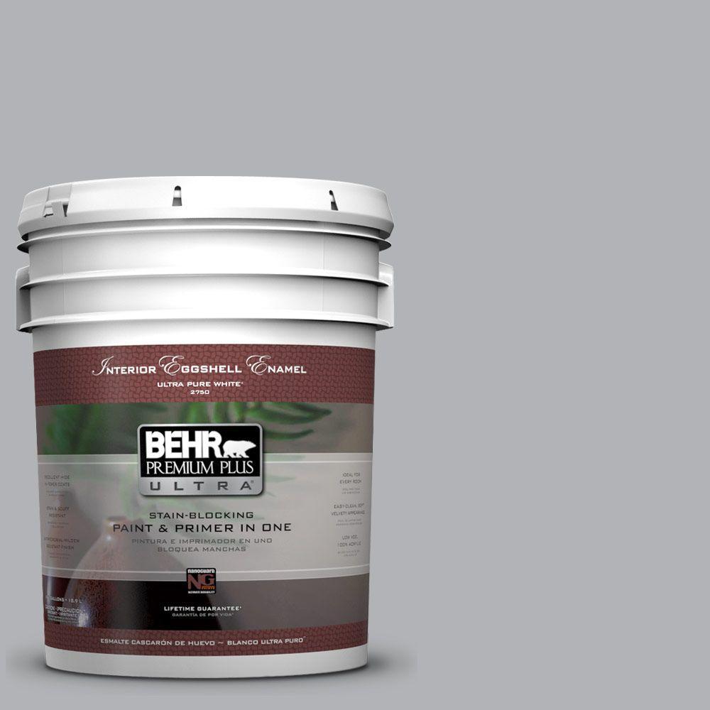 BEHR Premium Plus Ultra 5 Gal. #770E 3 Pewter Mug Eggshell Enamel