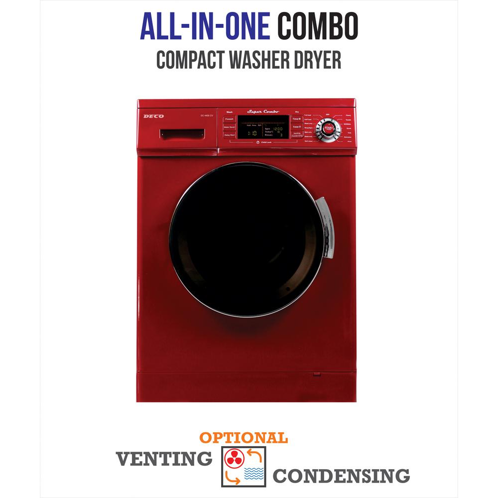 Lg 2 3 cu ft all in one washer and dryer - Deco 1 6 Cu Ft All In One Compact Combo Washer And Electric
