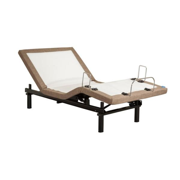 Blissful Nights M2000 Twin Long Adjustable Bed Frame