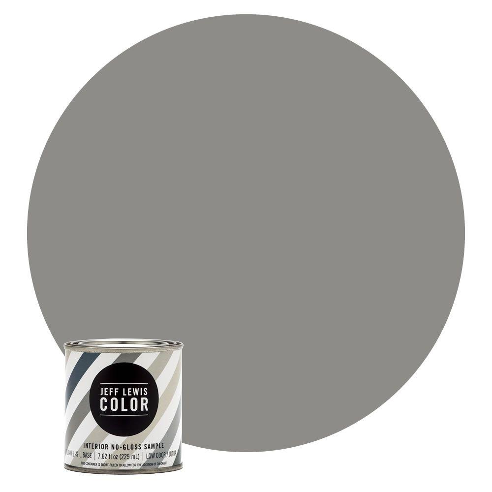 gray paint home depotJeff Lewis Color 8 oz JLC415 Gray Geese NoGloss UltraLow VOC