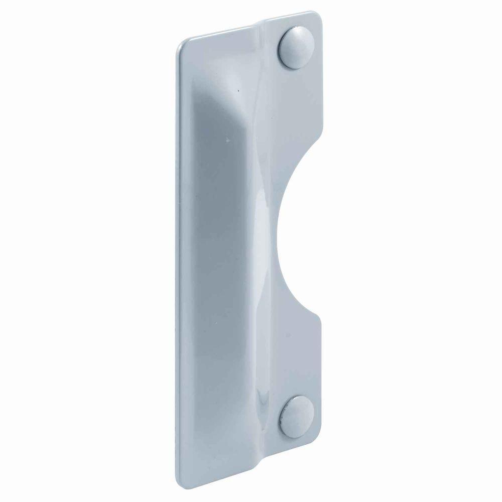 "Primeline Guard 3x7"" Gray Outswing Door Security Plate ..."