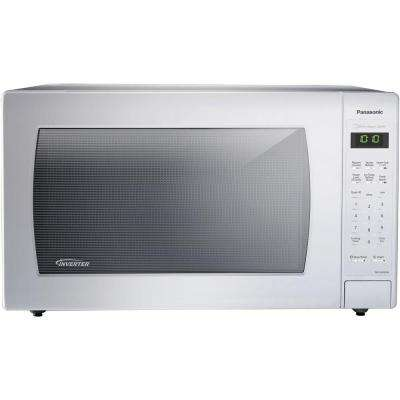 2.2 cu. ft. Countertop Microwave in White, Built-In Capable with Sensor Cooking and Inverter Technology