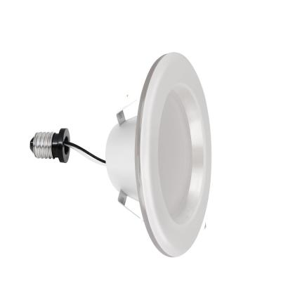 4 in. Selectable w/Nightlight Mode Integrated LED Recessed White Trim Retrofit Downlight ENERGY STAR Dimmable (4-Pack)