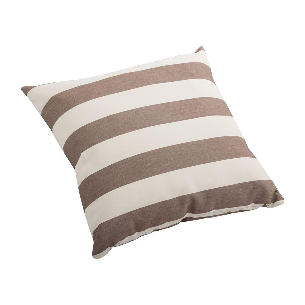 ZUO 16 in. Square Pony Outdoor Throw Pillow
