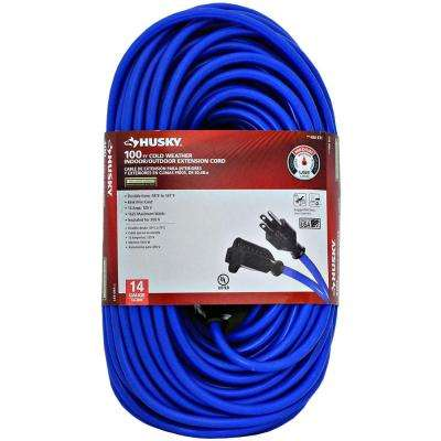 100 ft. 14/3 (-50°) Cold Weather Extension Cord