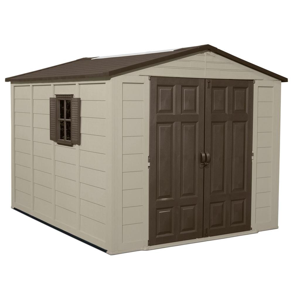 Suncast 7.5 ft. x 10 ft. Resin Storage Shed
