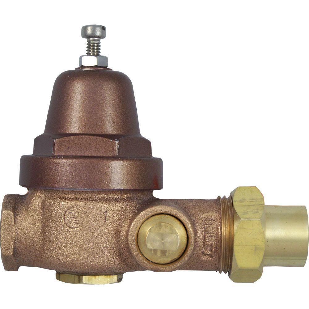 Cash Acme 1/2 in. Brass AB-40 Pressure Reducing Boiler Feed Valve ...