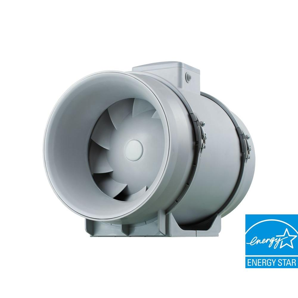 VENTS 1051 CFM Power 12-3/8 in. Mixed Flow In-Line Duct Fan