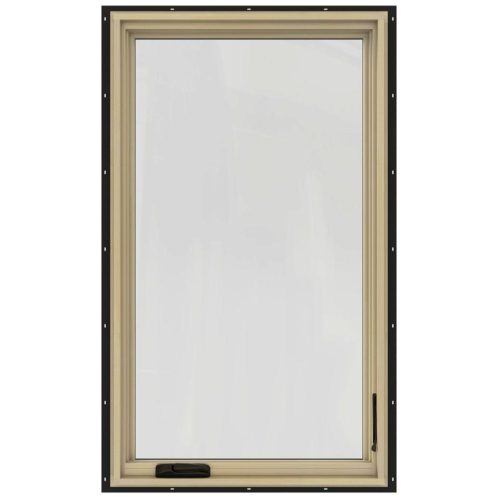 Jeld wen 30 3 4 in x 48 3 4 in w 2500 left hand casement for Casement window reviews