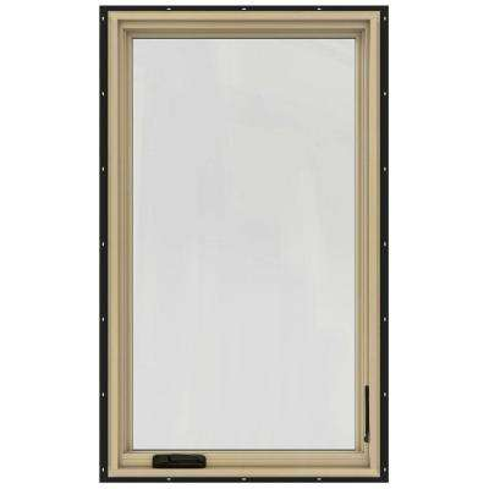 30-3/4 in. x 48-3/4 in. W-2500 Left-Hand Casement Wood Window