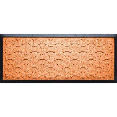 Orange 15 in. x 36in. x 1/2 in. Dog Treats Boot Tray
