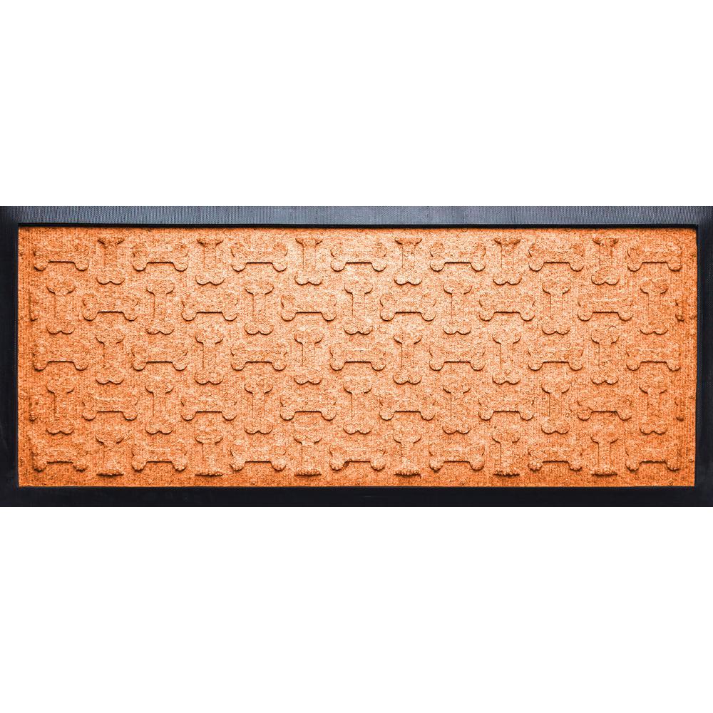 Orange 15 in. x 36in. x 1/2 in. Dog Treats Boot Tray