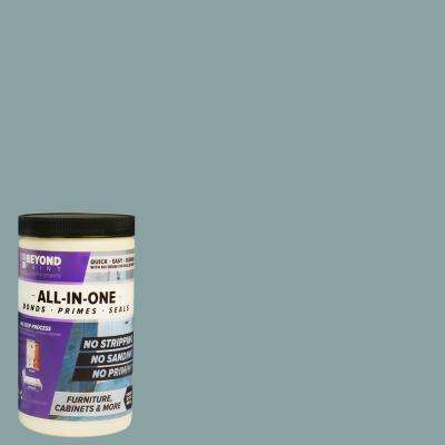 1 qt. Nantucket Furniture, Cabinets and More Multi-Surface All-in-One Interior/Exterior Flat Refinishing Paint
