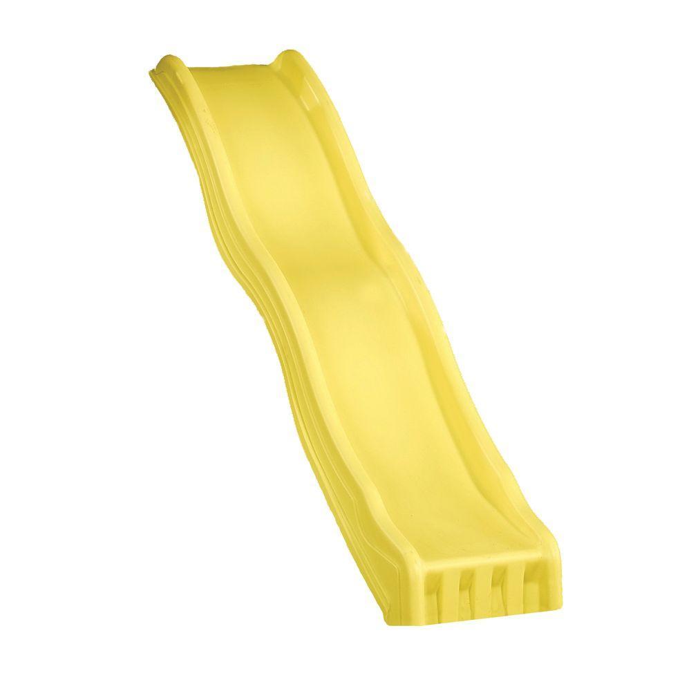 swing-n-slide playsets yellow cool wave slide-ne 4675-1pk