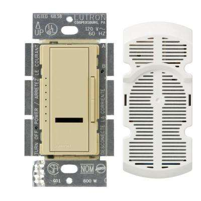 Maestro IR Multi-Location 7-Speed Digital Fan Control - Ivory