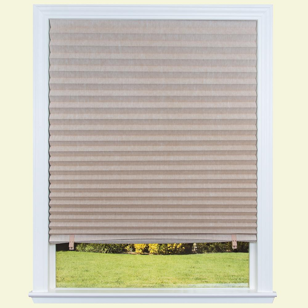 """6-Pack Original Light Filtering Pleated Paper Shade Natural 36/"""" x 72/"""""""