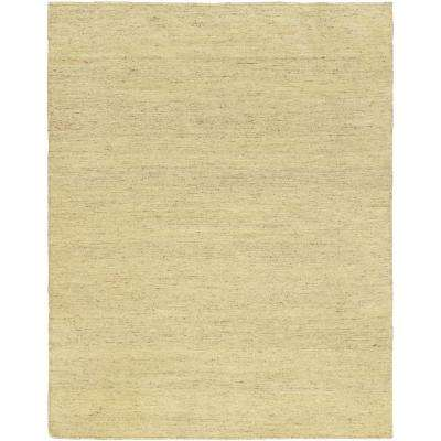Natural Yellow 5 ft. x 6 ft. Indoor Area Rug