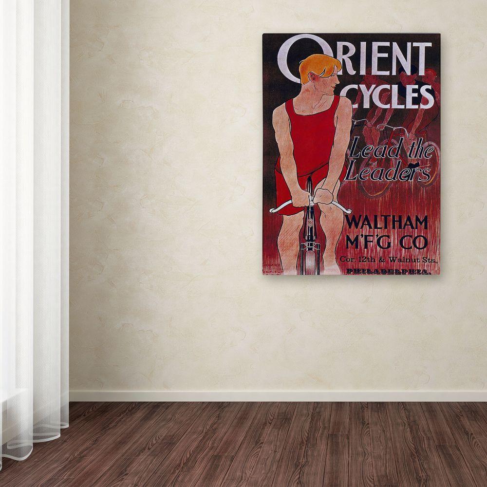 47 in. x 30 in. Bike 42 Canvas Art