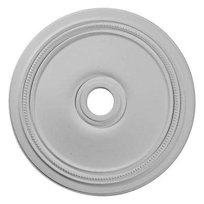 24 in. x 3-5/8 in. ID x 1-1/4 in. Diane Urethane Ceiling Medallion (Fits Canopies upto 6-1/4 in.)