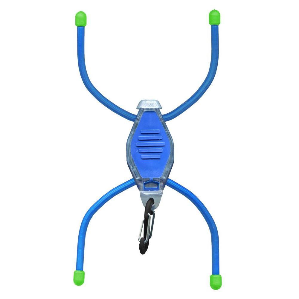 BugLit Blue Clear Body/White LED Flashlight