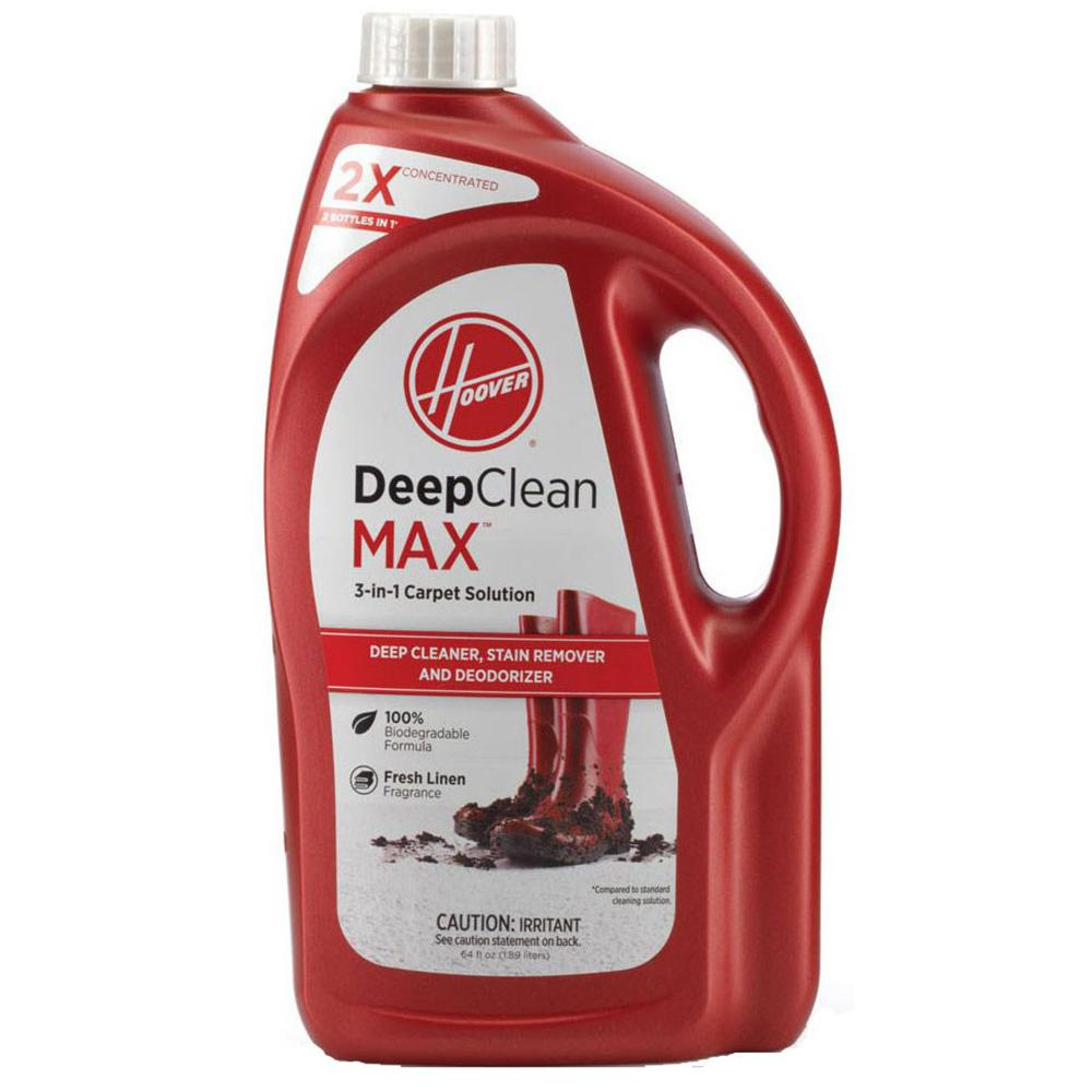 Hoover 64 Oz 2x Deep Clean Max 3 In 1 Carpet Solution