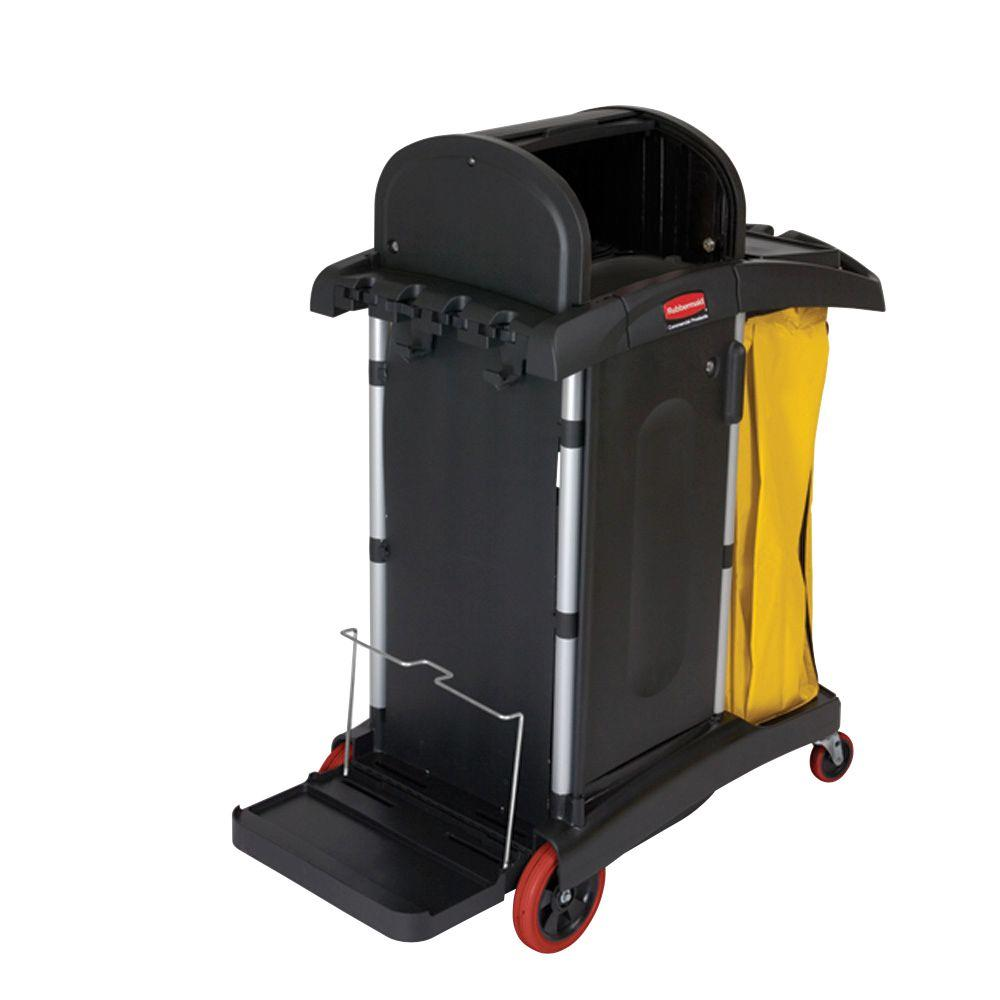Rubbermaid Commercial Products Hygen High Security Cleaning Cart