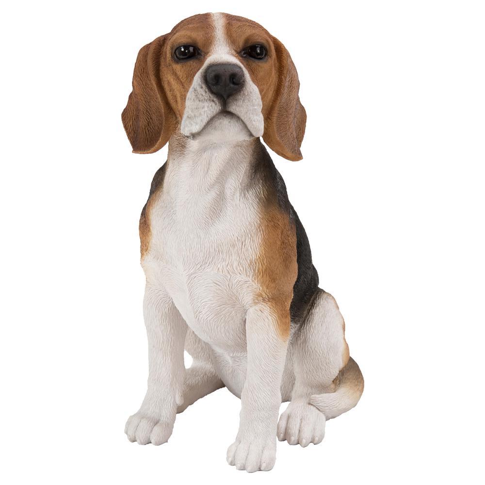 Beagle Sitting Statue