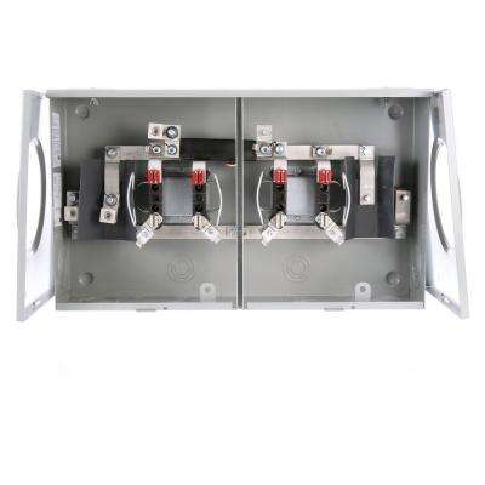 100 Amp Ringless Horn-Bypass Overhead/Underground Meter Socket