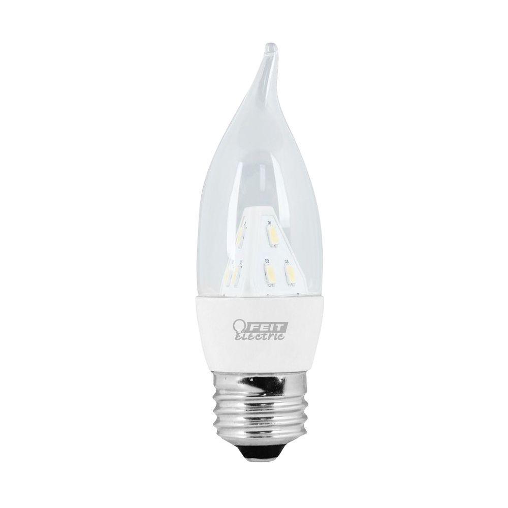 Feit Electric 25W Equivalent Soft White (3000K) CA Clear Standard Base LED Light Bulb