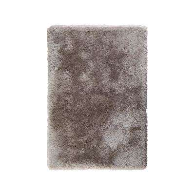 Glimmer Grey 2.5 ft. x 4 ft. Shag Accent Rug
