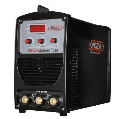 Stickweld 250-Stick Welder with a Dedicated Port to Weld with E6010 Electrodes