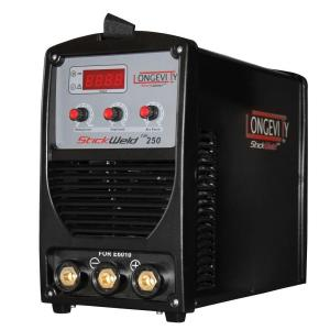 Longevity Stickweld 250-Stick Welder with a Dedicated Port to Weld with E6010 Electrodes by Longevity