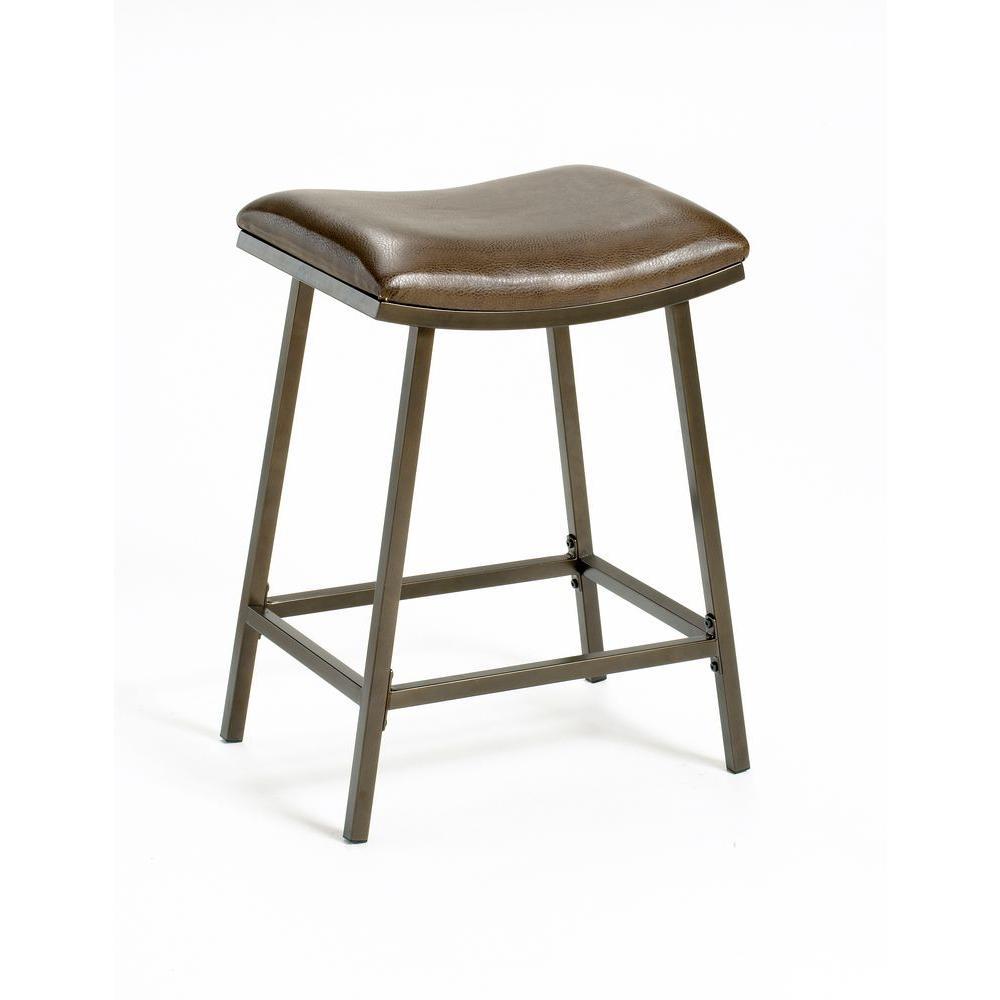 Hillsdale Furniture Saddle Adjustable Bar Stool