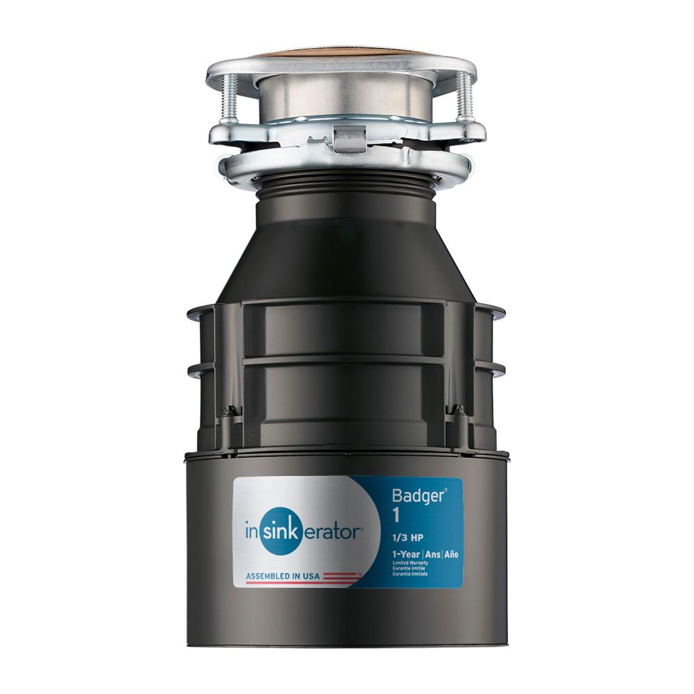 Continuous Feed Garbage Disposal Badger
