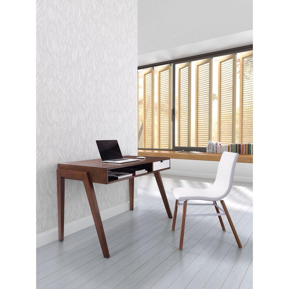 Zuo Linea Walnut Desk