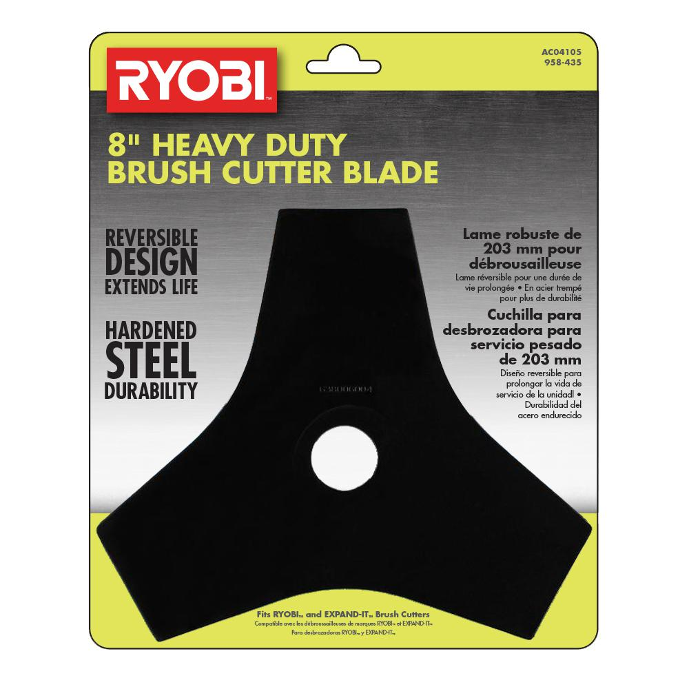 RYOBI Tri-Arc Brush Cutter Blade and Expand-It Brands