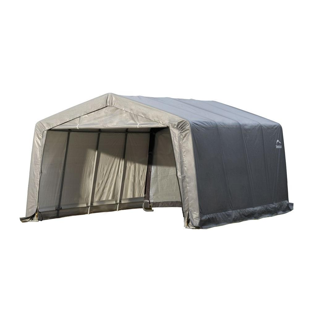 Shelterlogic Garage In A Box 12 Ft X 16 Ft X 8 Ft Peak