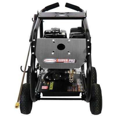SuperPro Roll-Cage 4400 PSI at 4.0 GPM HONDA GX390 Cold Water Professional Gas Pressure Washer