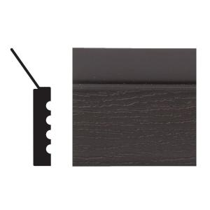 garage door trim home depotVeranda 9 ft x 2 in x 716 in Vinyl Composite Garage Doorstop