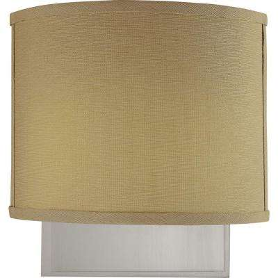 Calare 2-Light Brushed Nickel Interior Wall Sconce