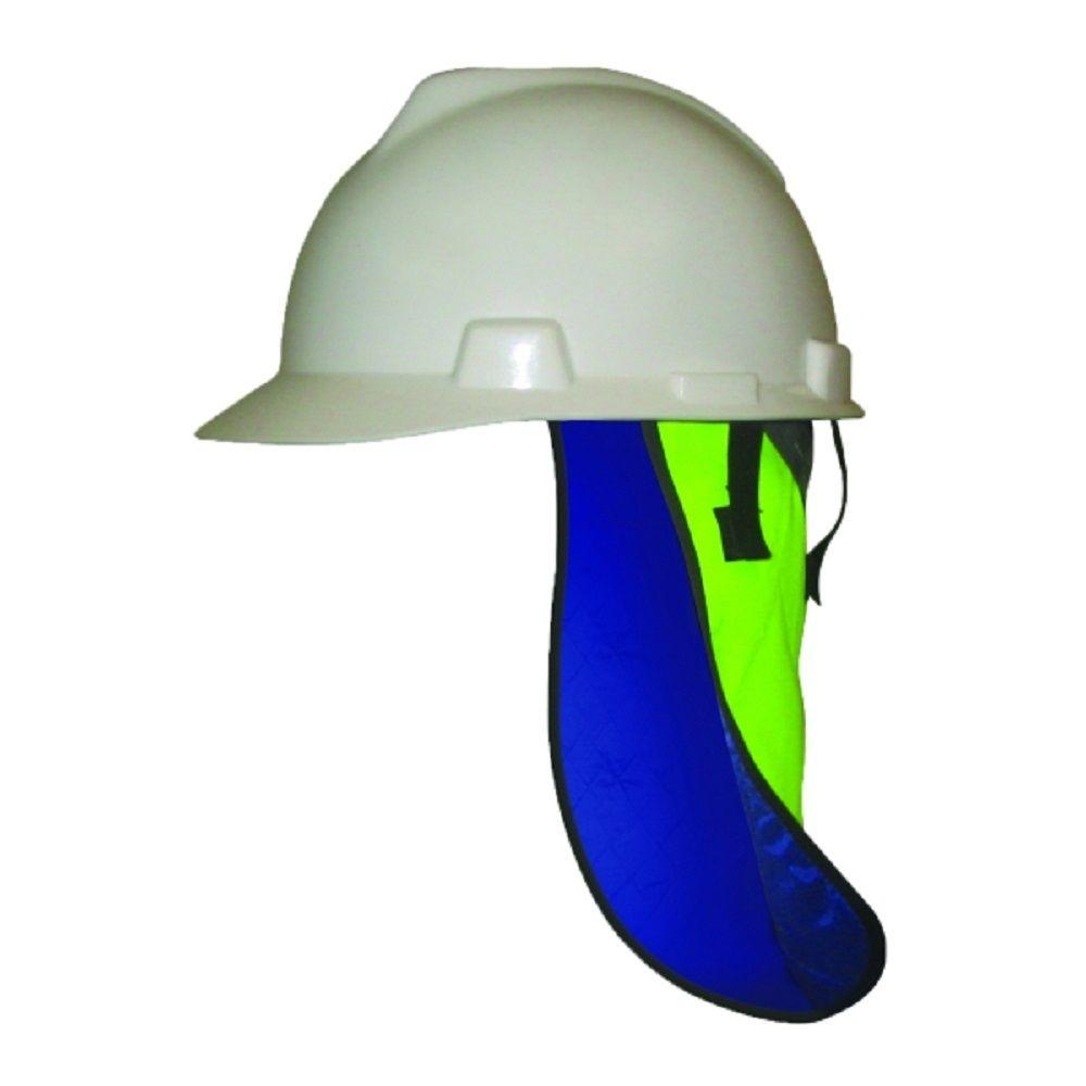 HyperKewl Men s Evaporative Cooling Neck Shade Hard Hat Liner-6525HV - The  Home Depot 14b8487e724