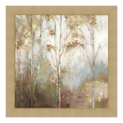 """Fine Birch II"" by Allison Pearce Framed Canvas Wall Art"