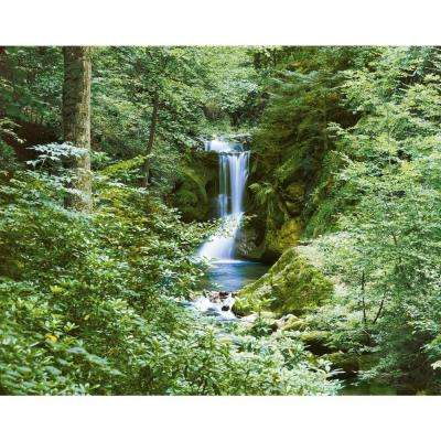 100 in. x 144 in. Waterfall in Spring Wall Mural